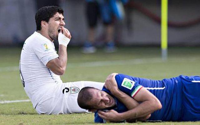 Luis Suarez bite