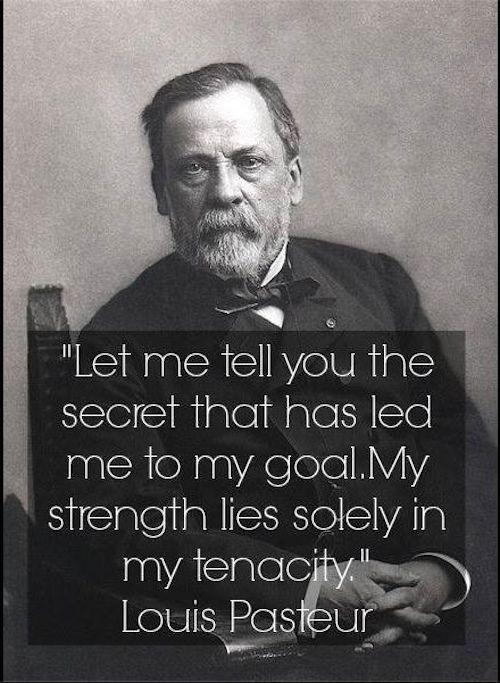 Pasteur quote